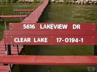Dock of 5616 Lakeview Drive