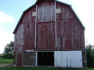 Barn of 1320 Highway 9