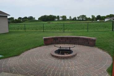 Firepit of 500 Pine Brooke Dr