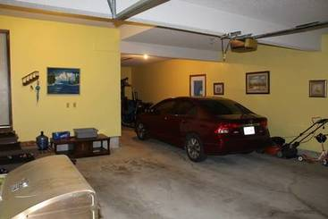 Garage Interior of 20 Granite Ct